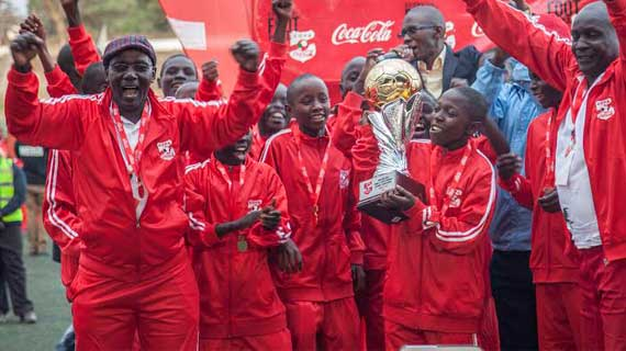 Kitale Youth team in Pretoria for international Boot Camp