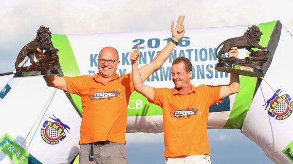 Finnish Tapio Laukannen wins Nanyuki Rally