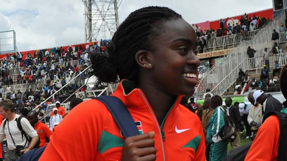 Linda Oseso aims to better her personal record in Benin