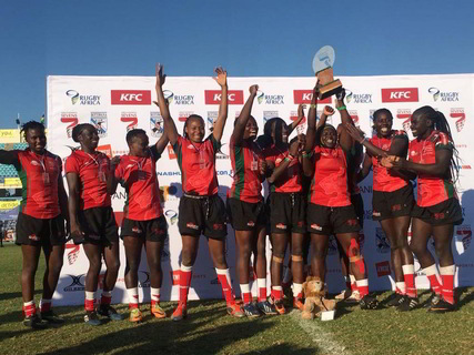Kenya Lionesses defeat Uganda to be crowned  the Sevens Champions