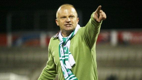 Coach Zdravko Logarusic will be back