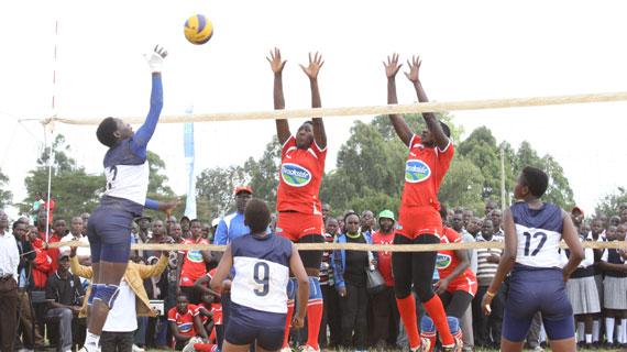 Kosirai outshine Soweto to  lift women volleyball title
