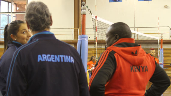 Malkia's struggling with Freezing weather, language barrier in Argentina