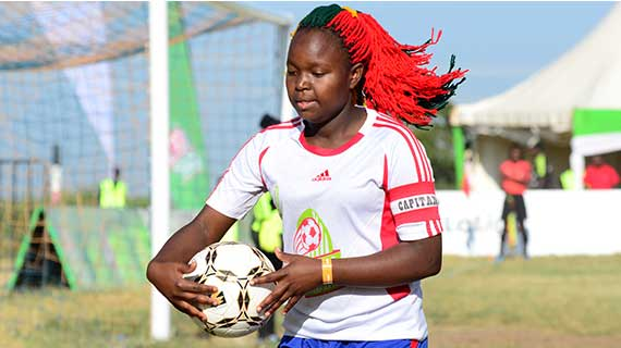 Chapa Dimba has changed my life, says Central Region MVP Lutomia