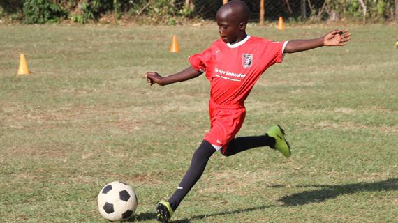 Michezo Afrika Academy in barren draw