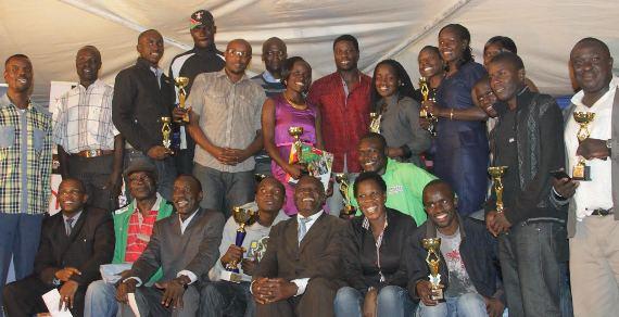 Kenyan soccer pro Nabwire supports Magharibi Michezo Awards