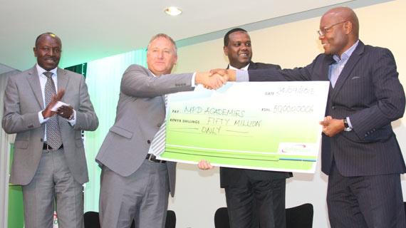 Safaricom unveil Ksh.50Million football sponsorship