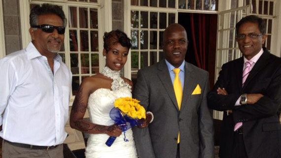 Decorated Nation journalist, Makori ties the knot