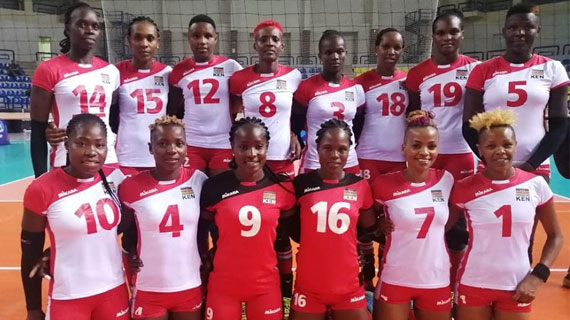 Kenya's Malkia Strikers hammer Algeria in AFCON opener