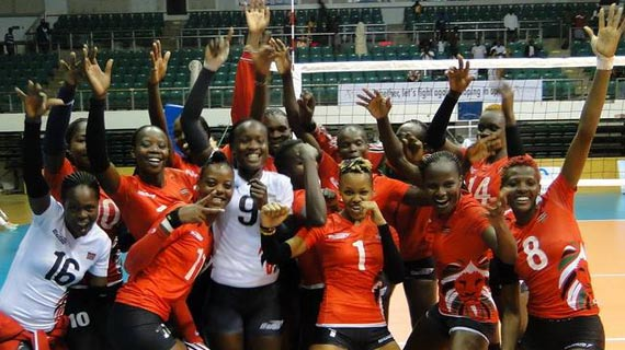 Kenya's Malkia Strikers  humble hosts Cameroon
