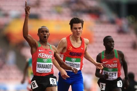 Manangoi grabs 1500m gold