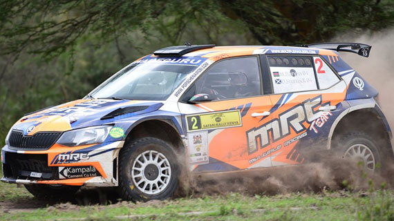 Manvir with overnight lead as Safari Rally enters day three