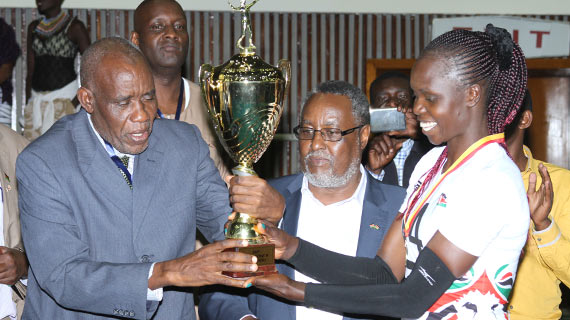 Kenya trounce Egypt to be crowned regional Volleyball Queens