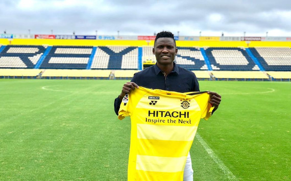 Olunga joins Japanese club Kashiwa Reysol