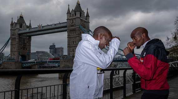 Kenya's Eliud Kipchoge, Kosgei win double at the London marathon