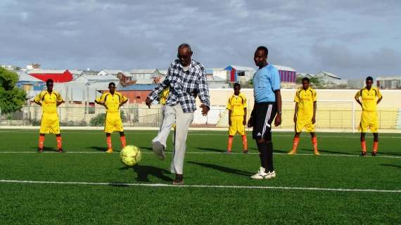 Somali national football team skipper taken ill