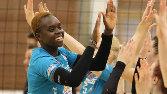 Kenya captain Moim named the best server in Finland