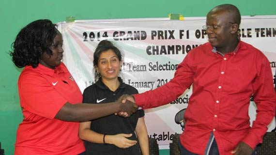 World Table Tennis boss congratulates Mudibo