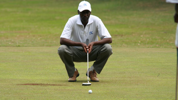 Otieno lifts NIC Bank Nyanza golf championship