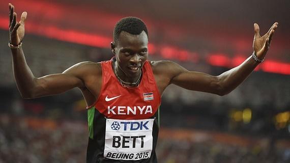 Wolrd mourns former  400m Hurdles Champion Nicholas Bett