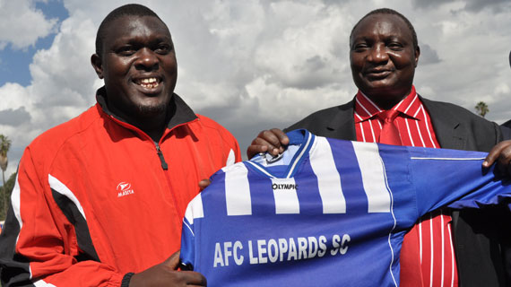 Yakhama officially takes over as AFC Leopards coach