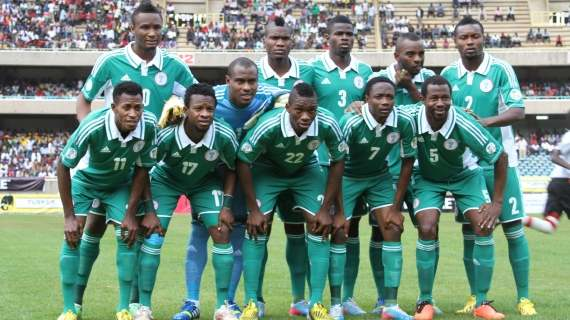 Nigeria Eagles book 2014 world Cup place