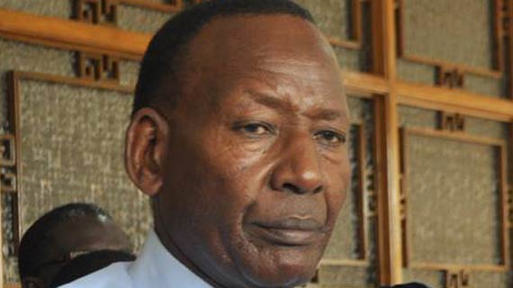 Kenya's Interior Cabinet secretary Joseph Nkaissery passes on
