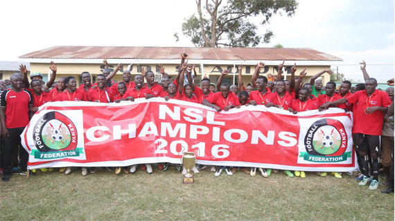 Nzoia crowned NSL champions as Kariobangi Sharks earns promotion