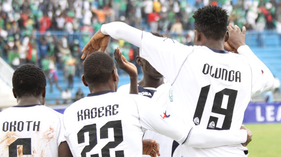 Olunga, Were and Kagere top nominees of the Player Award