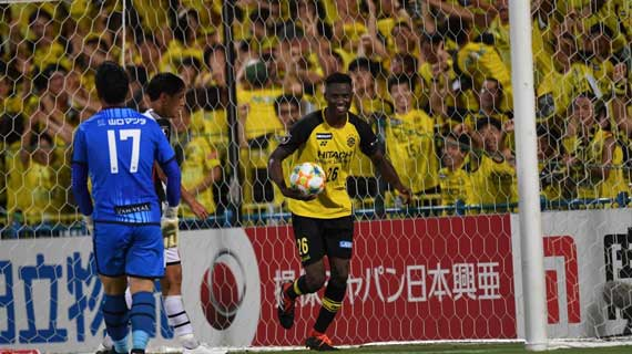 Olunga on a hatrick as Reysol step up promotion bid