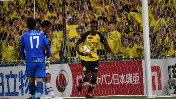 Olunga on a hatrick as Reysol step up promotion bid