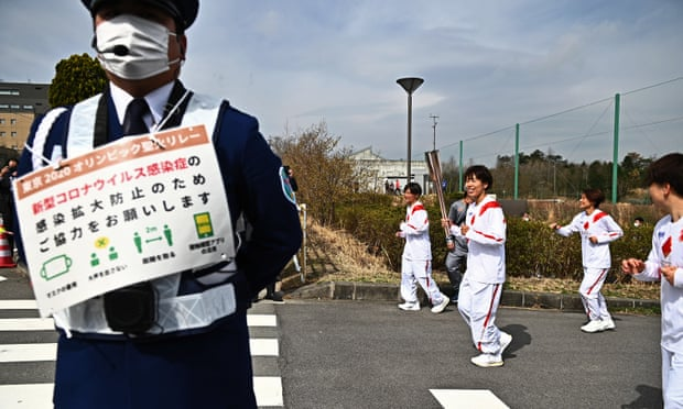 Tokyo Olympic Games Torch Relay Kicks Off
