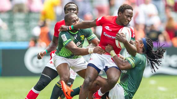 Kenya's Shujaa beats Scotland to advance to Hong Kong semis