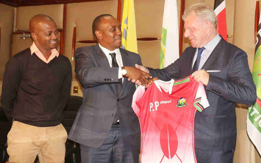 Harambee Stars head coach Paul Put Resigns