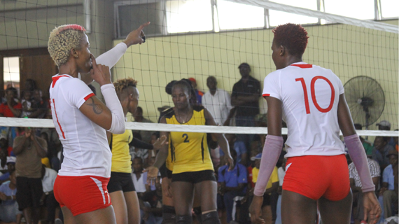 Pipeline, Prisons win on Day 4 of CAVB Africa Club Championship