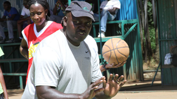 Kenya women basketball team drawn in Pool B