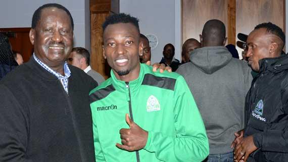 Rt.Hon Raila urges Gor Mahia to make Kenya Proud as they face Everton