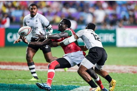Kenya 7s miss cup quarter finals, drop to trophy in London