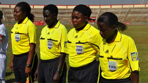 Rwanda Referees for the Kenya vs Zambia tie