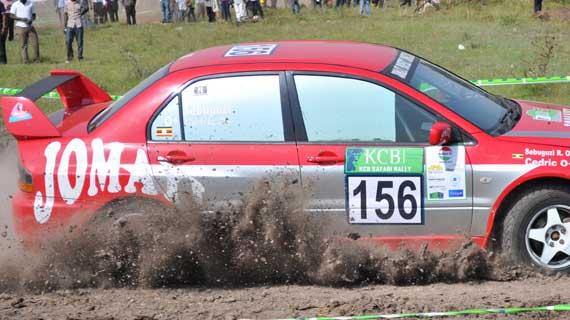 National rally championship heads to rainy Eldoret
