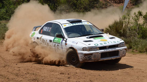Baldev Charger successfully defends Safari Rally title