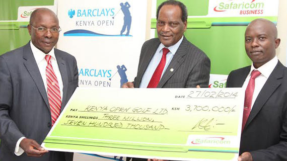 Safaricom sponsors Kenya Open