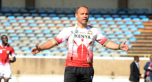Migné  calls four more to Harambee Stars camp