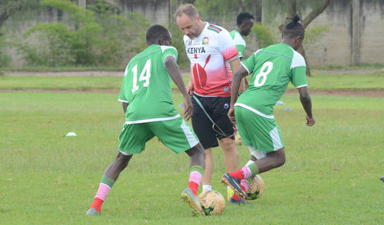 Migne ready for tough Swaziland tie