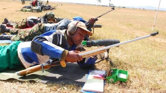 Presidential escort captain new Kenya Open Rifle Champion