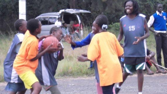Slum basketball good for identifying talent