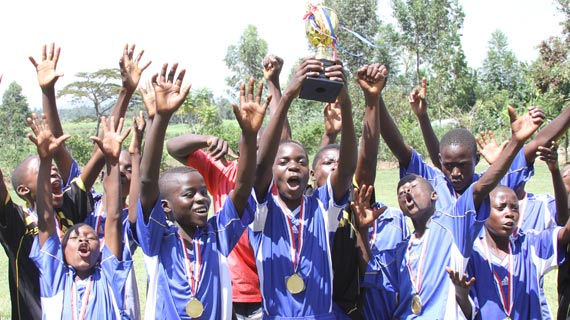 Smart FC wins end of year Bungoma Youth tournament