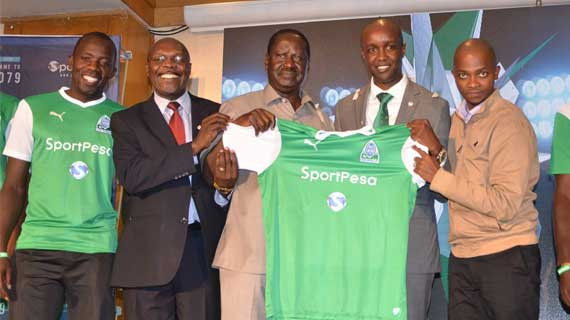 Sportpesa to renew Gor and AFC sponsorship on Monday
