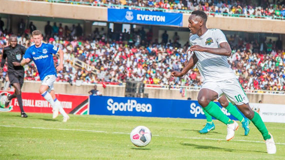 Kariobangi Sharks Stun Everton in Nairobi