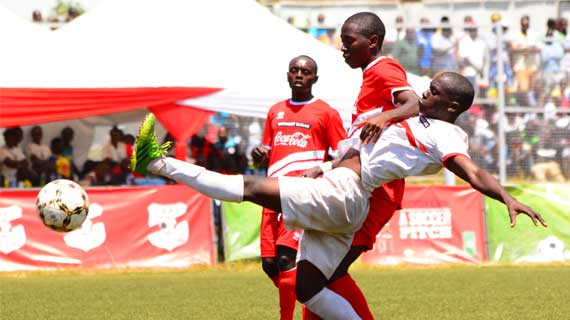 St. Anthony's beat Dagoretti  to win national school games